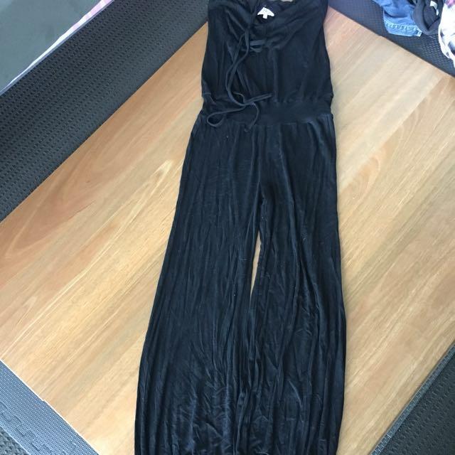 Black Jumpsuit Size 8