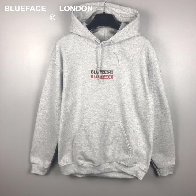 BlueFace London Double Logo Hoodie