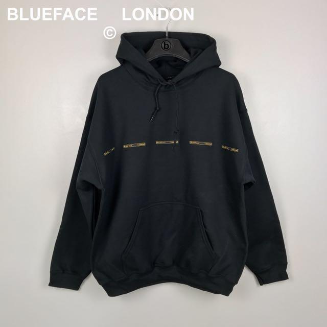BlueFace London Multi Badge Logo Hoodie