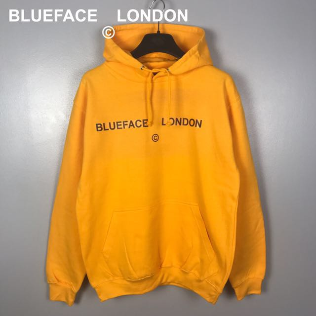 BlueFace London Yellow Hoodie