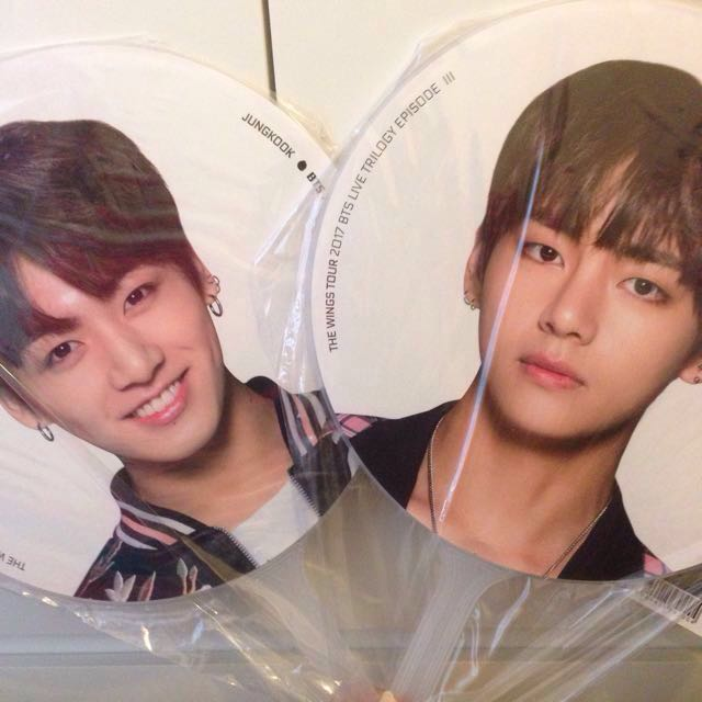 BTS Wings Tour pickets