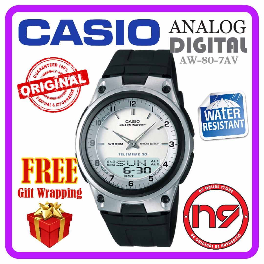 Jual Jam Tangan Casio Analog Welcome To Edifice Era 100pb 1av Aw 80 7av Digital Men Watches Resin Strap Casual Watch