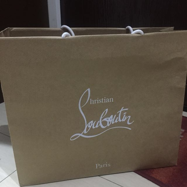 Christian Louboutin Paper Bag