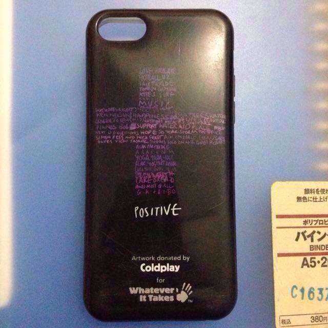 Coldplay Whatever It Takes iPhone 5C Case