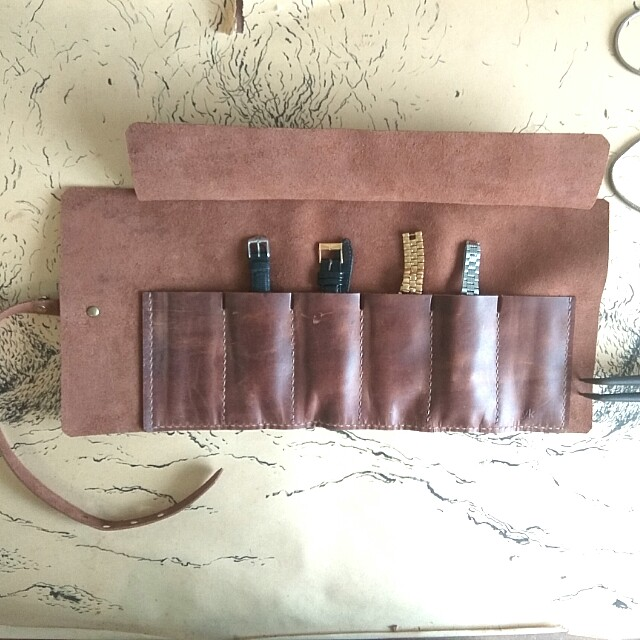 Customize Watch Pouch+Name Emboss