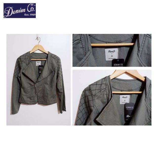 Denim Co. Motor Jacket