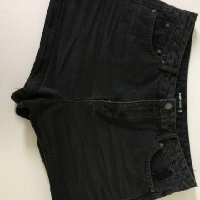 Denim Mom Shorts