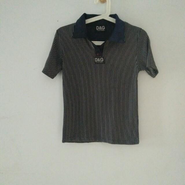 D&G Stripe Tshirt