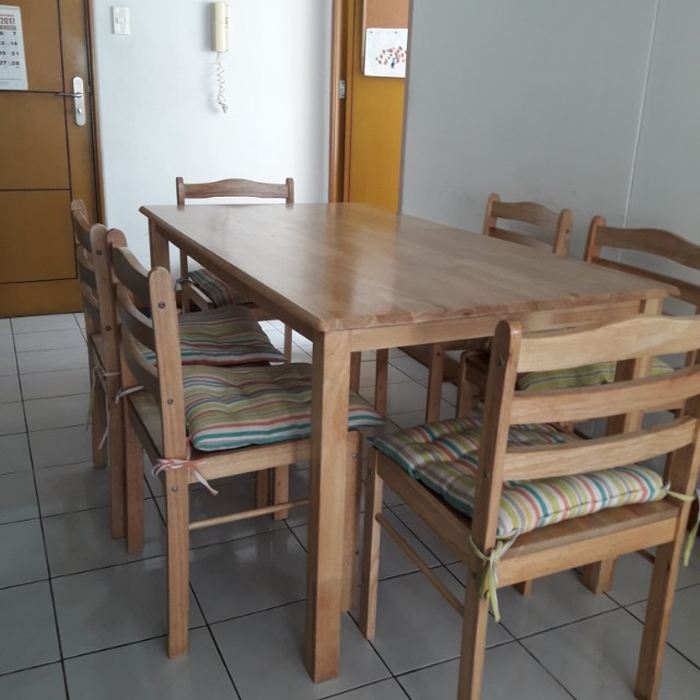 Dining Set 6 Seater (No Issue)