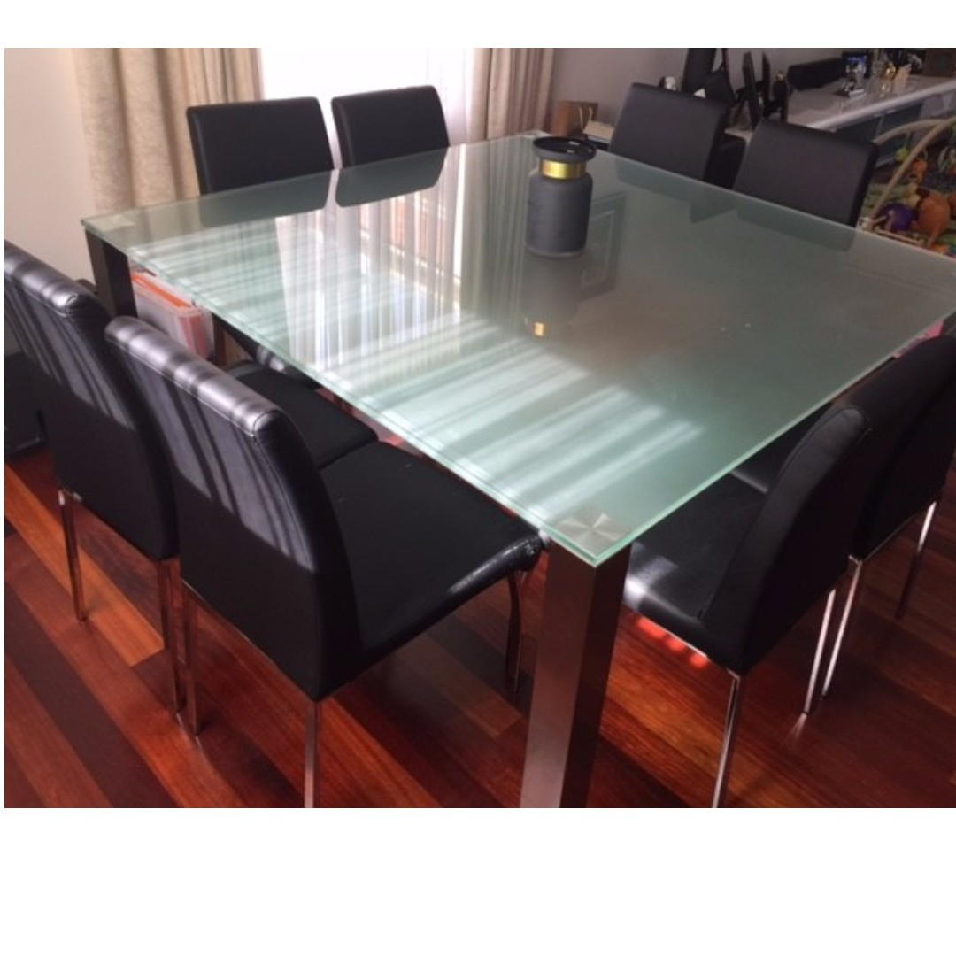 Dining Table With 8 Chairs Adriatic Home Furniture