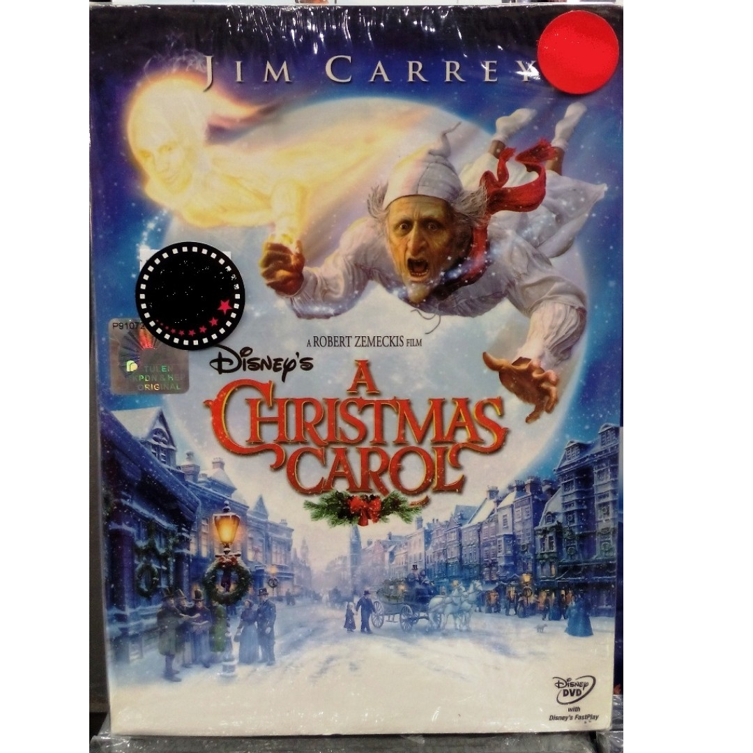 Disney A Christmas Carol Jim Carrey DVD, Music & Media, CD\'s, DVD\'s ...