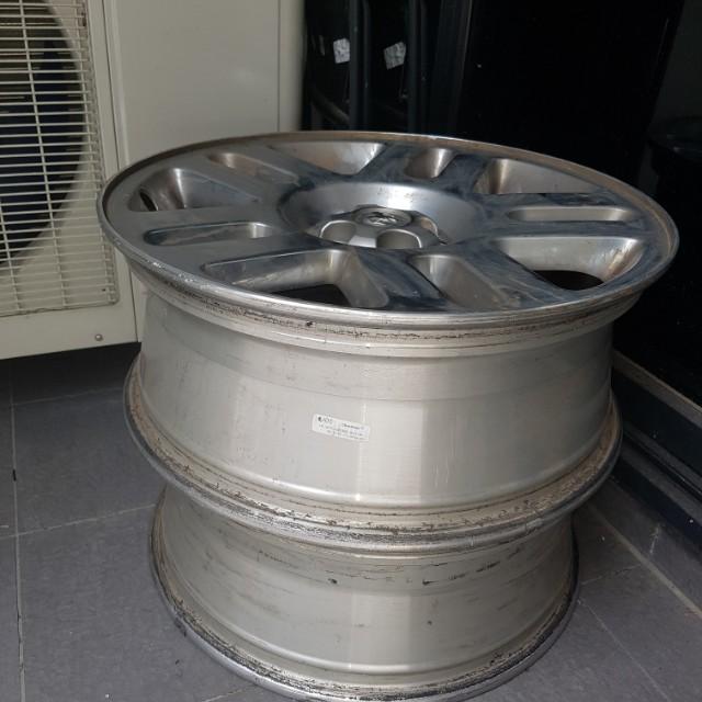dodge nitro alloy wheels