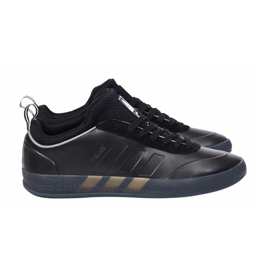 b0145493c8c3 DS  Adidas X Palace Pro 2 Shoes Black   Black   Solar Green