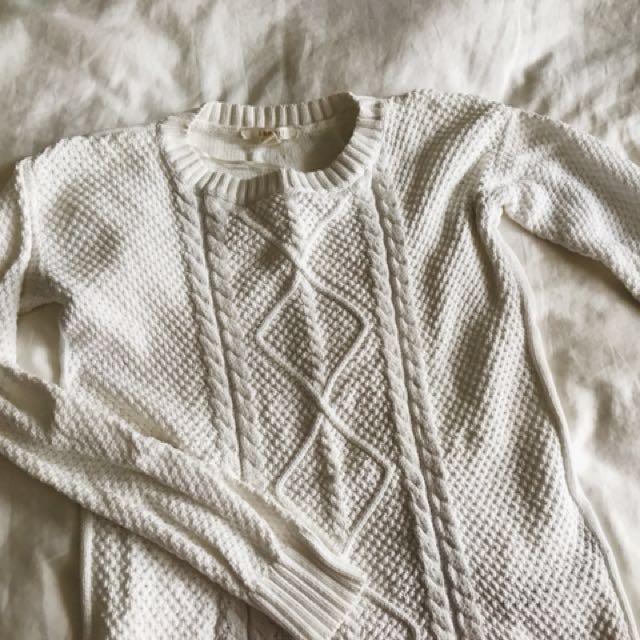 Esprit 白色毛衣