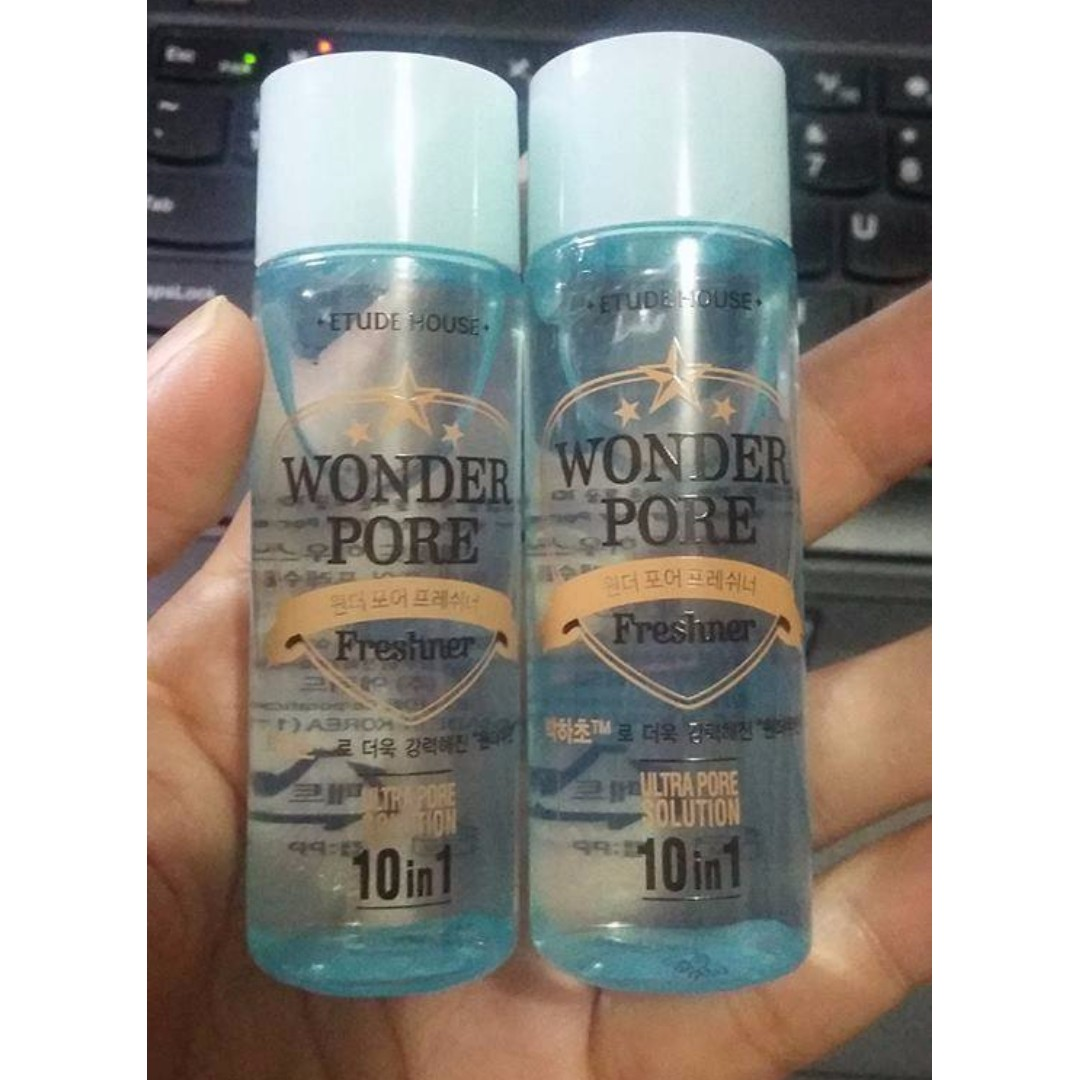 Etude House Wonder Pore Freshner Toner 25ml Health Beauty Skin 500 Ml Bath Body On Carousell