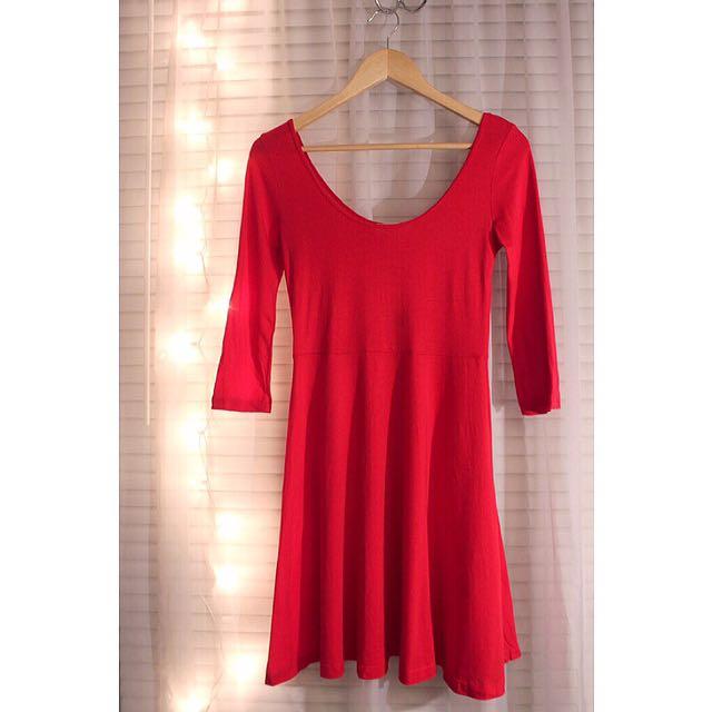 F21 Little Red Dress