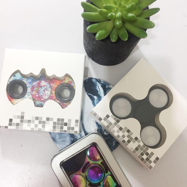 fidget spinners 💫 3 types