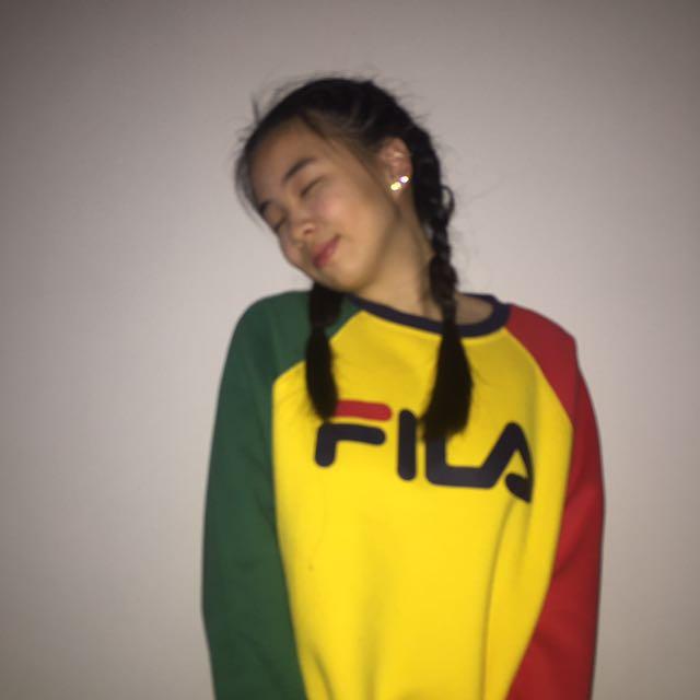FILA rainbow sweater (ori)