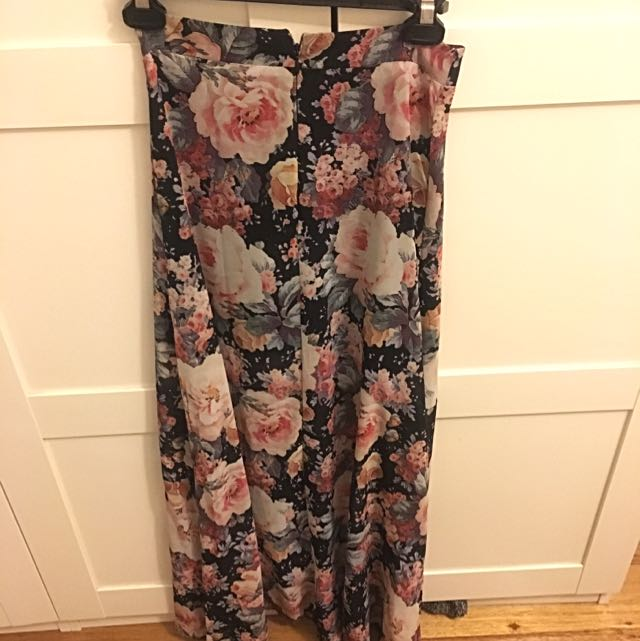 Floral Maxi Skirt Size 6