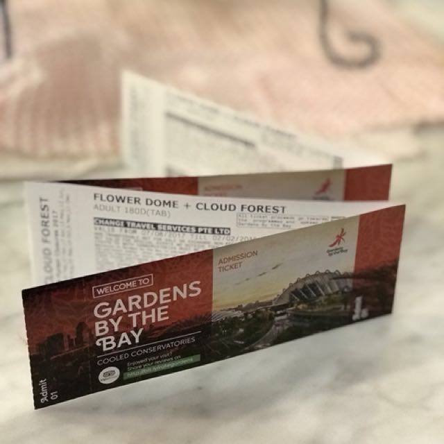 Gardens by the Bay Ticket
