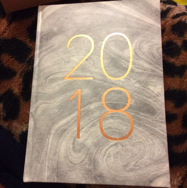 Grey 2018 notebook