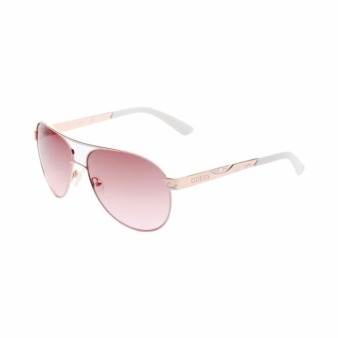 46730607fd Guess GF0282-28F Women´s Aviator Sunglasses