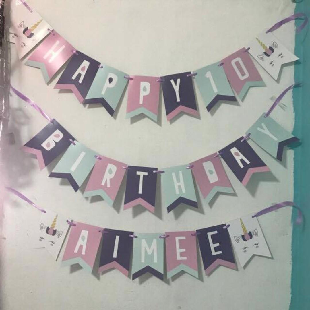Happy 10 Birthday Aimee