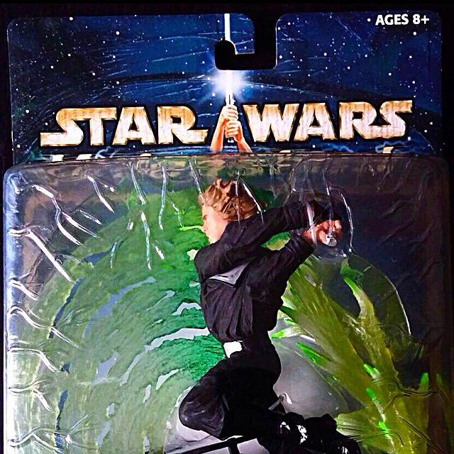 """Hasbro Star Wars UNLEASHED 2003 - Luke Skywalker 7"""""""