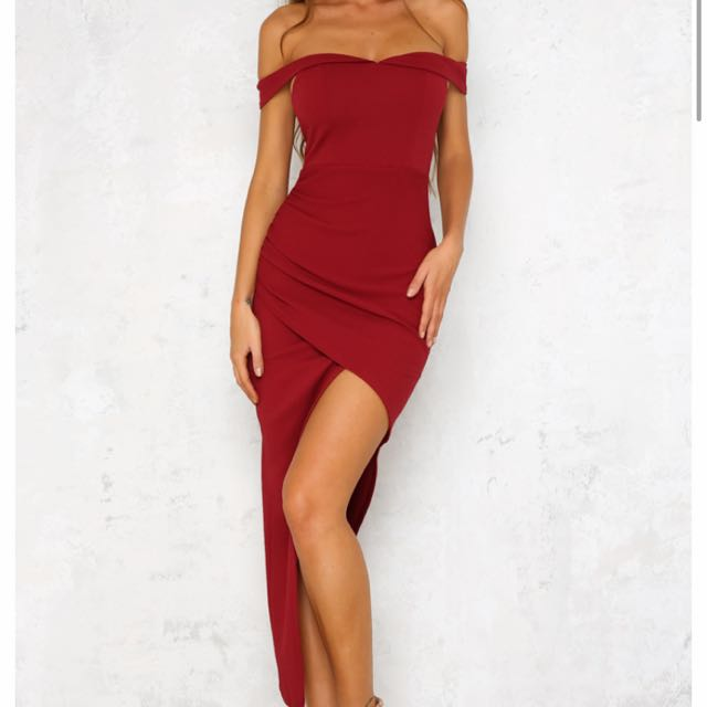 Hellomolly maxi dress with cutout