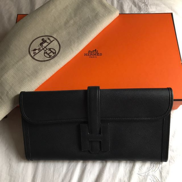 Hermes Black Clutch - NEGOTIABLE