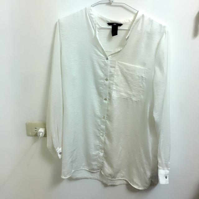 H&M白襯衫