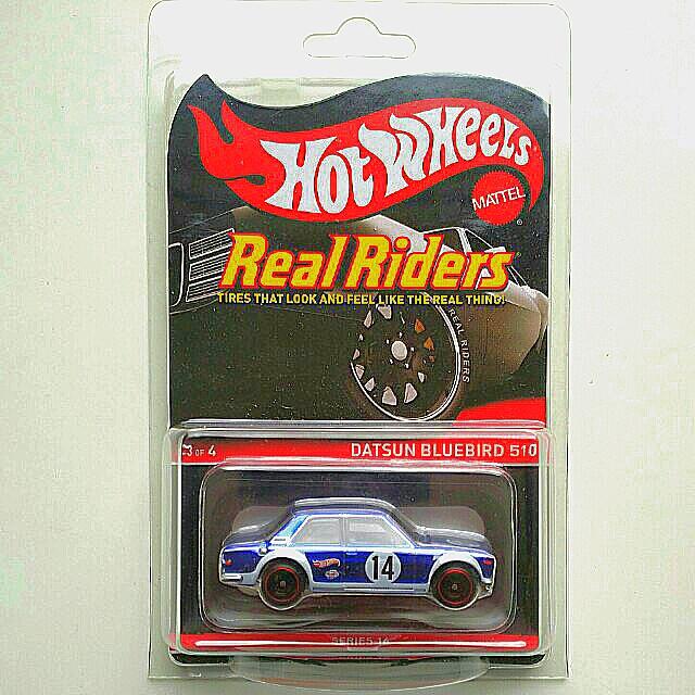 Hot Wheels RLC Datsun Bluebird 510