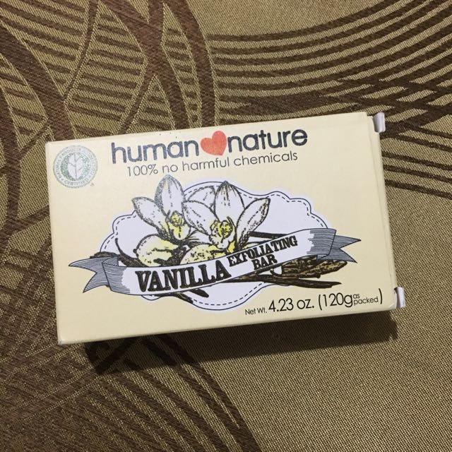 Human Nature Exfoliating Soap (Vanilla)