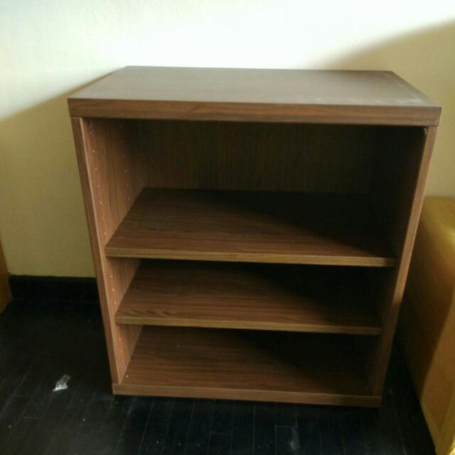 Ikea Bookshelf Used As Shoe Cabinet Furniture Shelves Drawers On Carousell