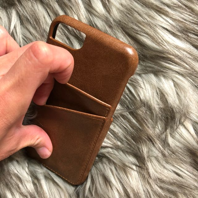 Iphone6s faux leather case