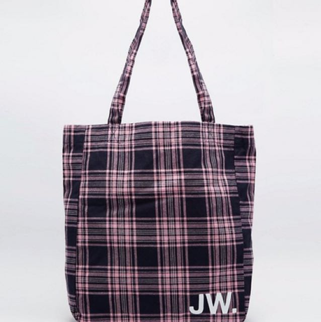 Jack Wills Ambleshire Book Bag Pink-Navy