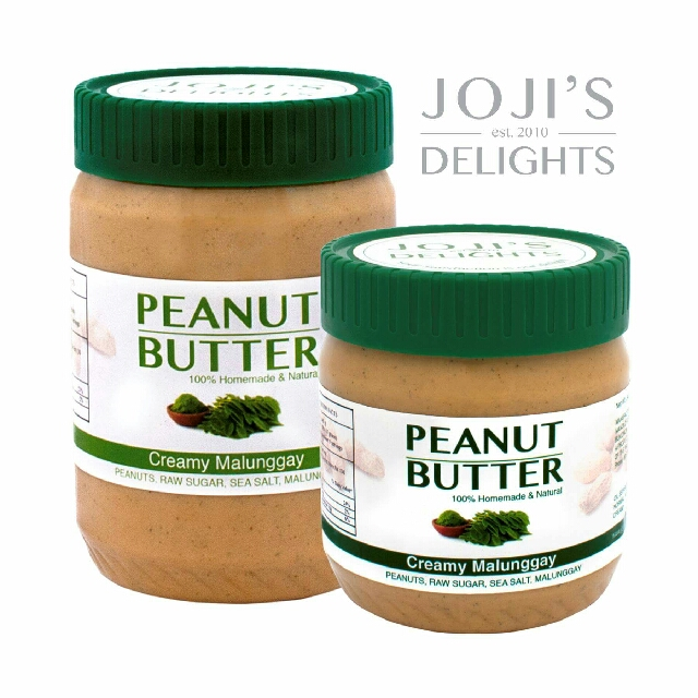 Joji's Delights Creamy Peanut Butter - Malunggay