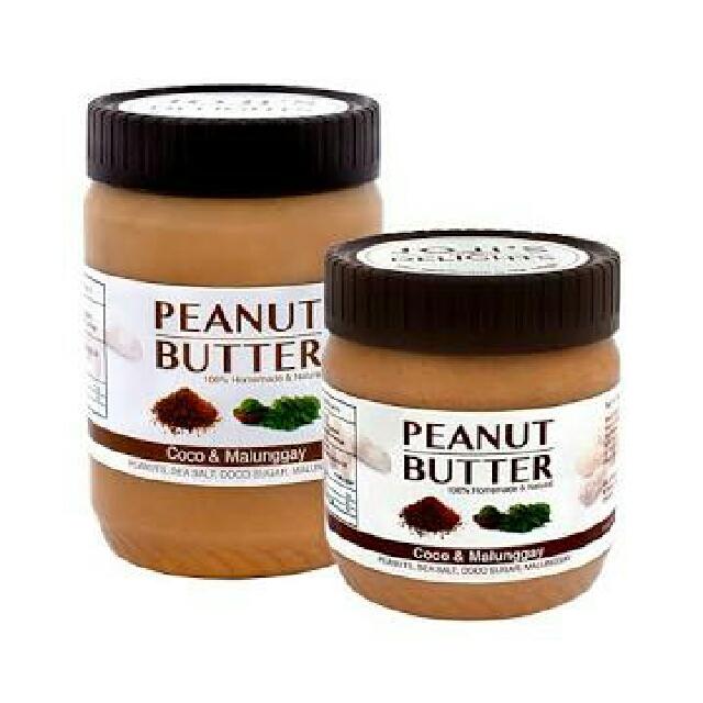 Joji's Delights Creamy Peanut Butter Coco Sugar & Malunggay
