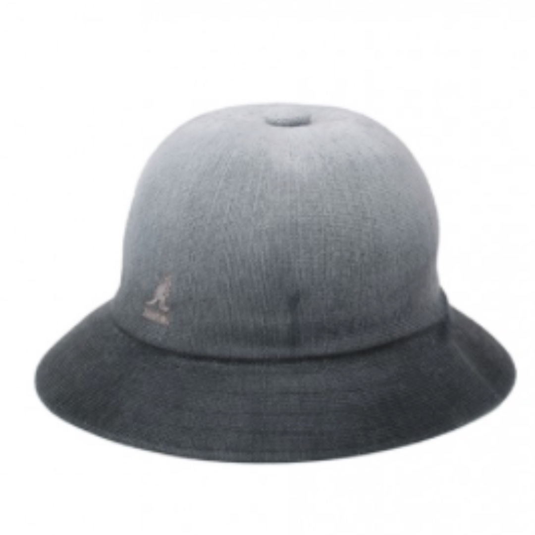 kangol漸層鐘型帽-灰