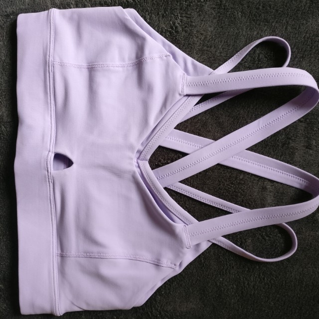 Lululemon lavender sports bra