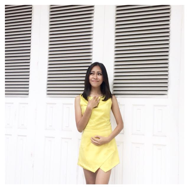 MDS yellow jumpsuit