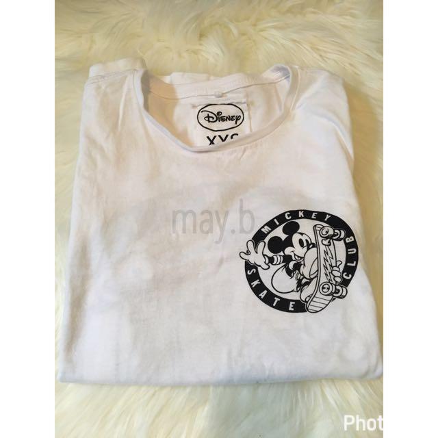 Mickey Mouse Tshirt Size XXS White