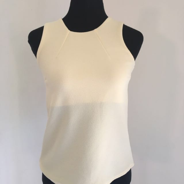 Miss Halfway Essential Top in Off White