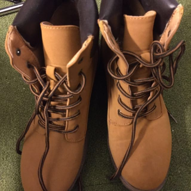 Mock Timberlands by factorie 39