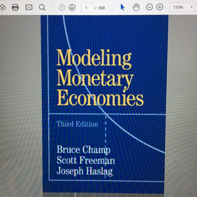 modeling monetary economies textbook solution manual books rh sg carousell com Problem and Solution The Test Solution