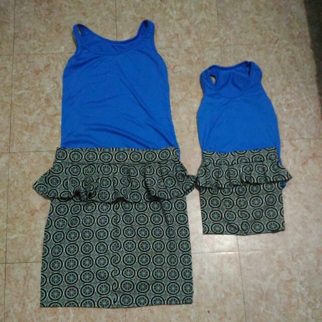 Mom and Daughter Terno Set