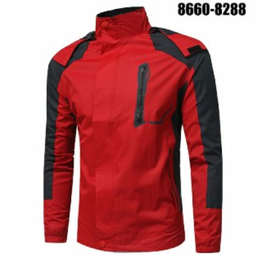 Mountaineering Men s Waterproof Windproof Warm Large Size Casual Turtleneck  Jacket a83faa6a14