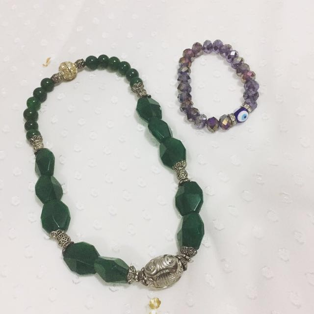 Necklace and Bracelet (All)