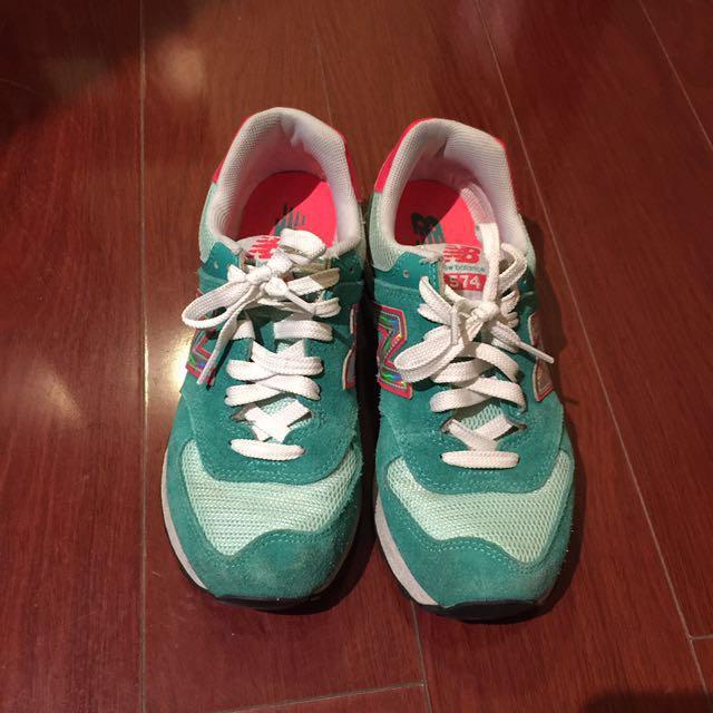 Green Orange Size FashionShoes Balance 37 5Women's New 574 And hCQxtsdr