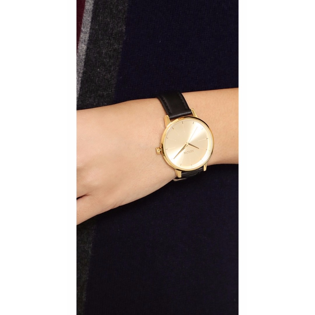 Nixon Women's Kensington Leather Watch